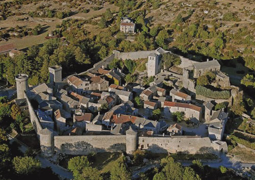 Fortified Templar Village in the Languedoc