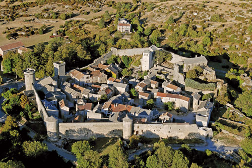 La Couvertoirade - Village of the Knights Templar in the South of France - Templar Tours, France